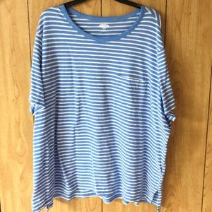 Old Navy Striped Boyfriend Tee!